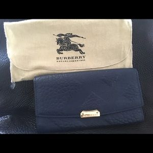 Authentic Burberry continental wallet